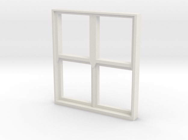 Square Window 1:55 3d printed