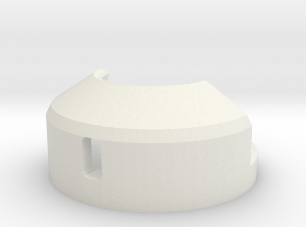 Vst Holder With Screws V2 Hollow in White Natural Versatile Plastic