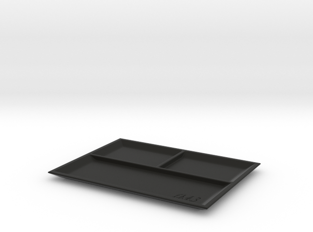 RC Small Parts Bowl in Black Natural Versatile Plastic