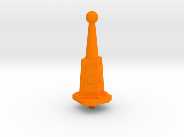 Prototype Turret Gun Stand in Orange Strong & Flexible Polished