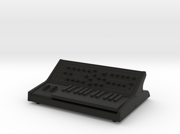 Synthesizer MSP 1:12 Scale in Black Natural Versatile Plastic