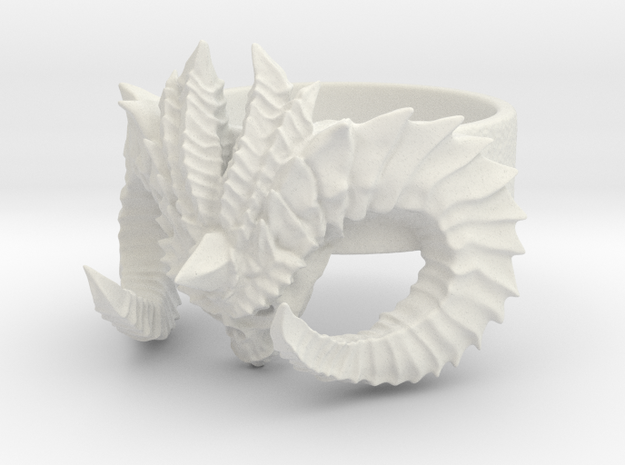 Diablo Ring Size 3 in White Strong & Flexible