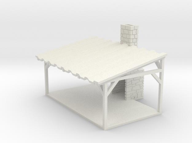 Picnic Shelter - HO 87:1 Scale