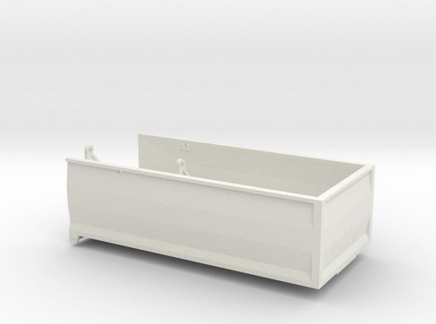 1/64 MA18 18' grain/silage bed in White Natural Versatile Plastic