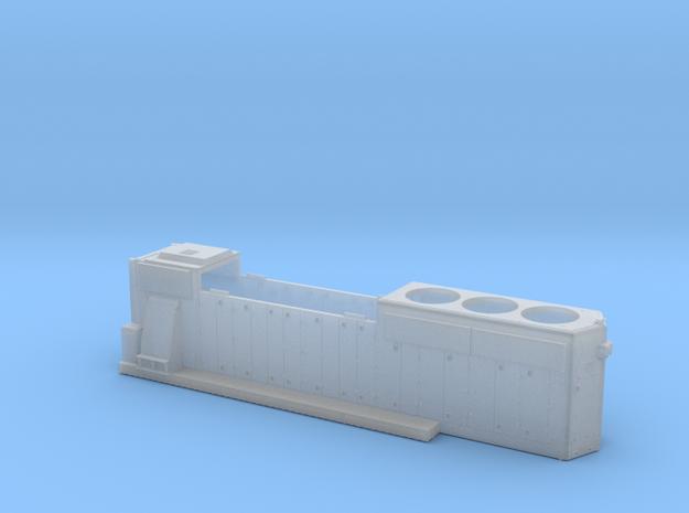 FEC430-434 GP40-2 HOOD 1/87.1 in Smoothest Fine Detail Plastic