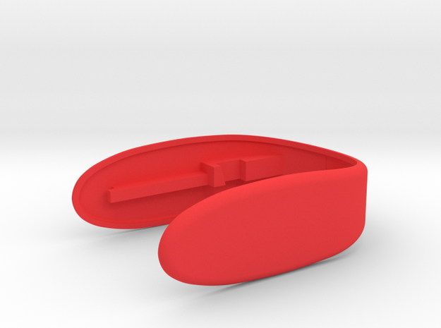 Key Fob for F56 Car rev 3 in Red Processed Versatile Plastic