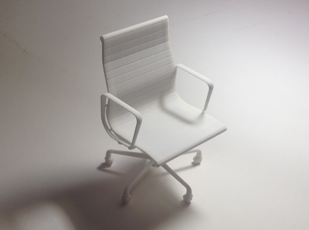 "Eames Chair - 4.4"" tall 3d printed"