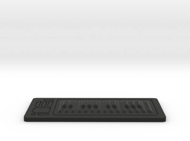Digital Piano RSR25 1:12 Scale in Black Strong & Flexible