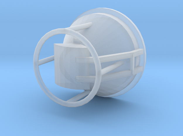 concrete bucket 1/87 in Smooth Fine Detail Plastic