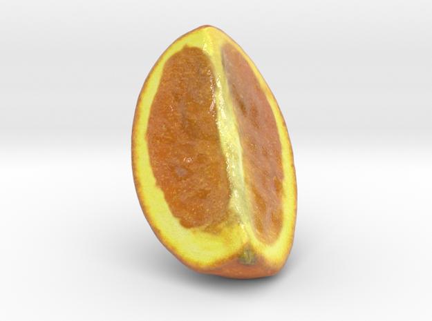 The Orange-2-Quarter-mini in Coated Full Color Sandstone