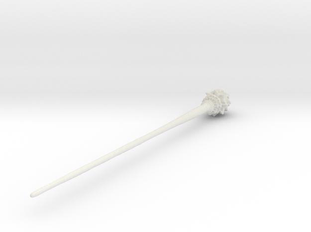 Mermaid Hair Stick in White Natural Versatile Plastic