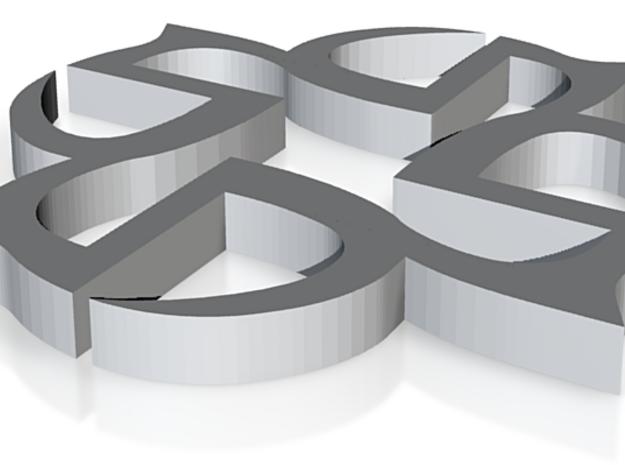 Seventh Dimension Logo 3d printed