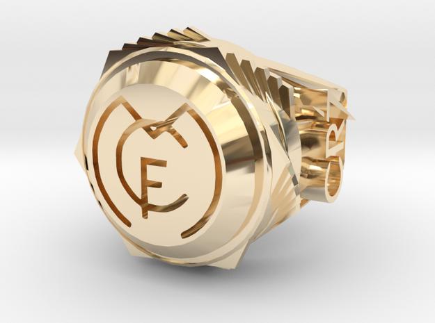 Cristiano Ronaldo Ring  in 14K Gold