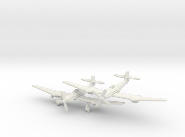 Blohm & Voss BV 155B pair 1/285 6mm in White Natural Versatile Plastic