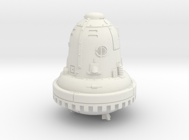 28mm/32mm The Bell (Die Glocke) in White Strong & Flexible