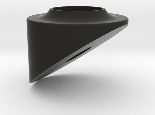 HD Cell 500 wider LG outter part in Black Natural Versatile Plastic