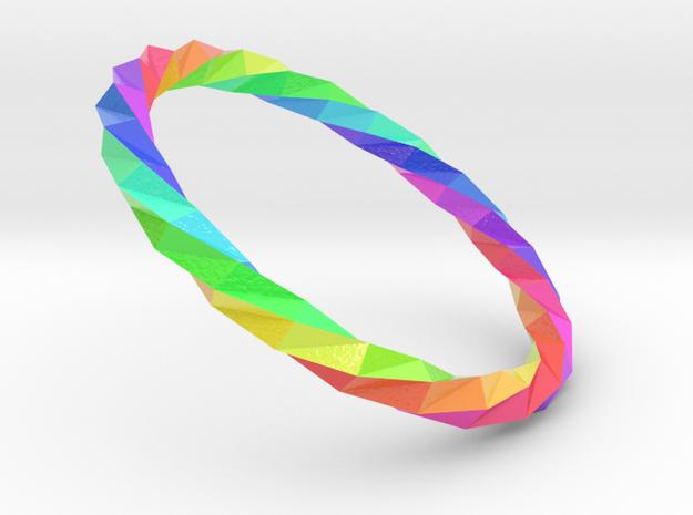 Twistium - Bracelet P=220mm Color in Glossy Full Color Sandstone
