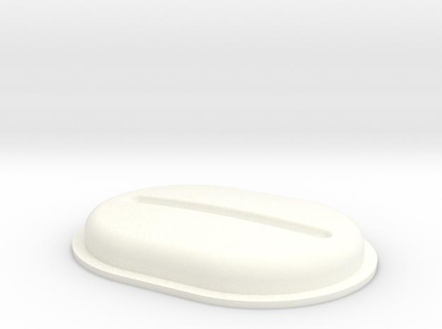 Heat1 in White Processed Versatile Plastic