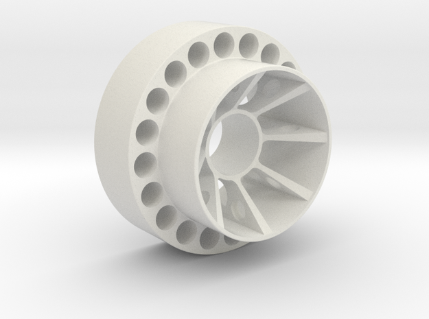 Dishwasherwheel in White Strong & Flexible