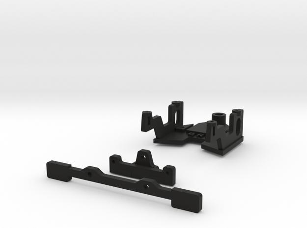 Puente delantero WRS para AM de Black Arrow in Black Natural Versatile Plastic
