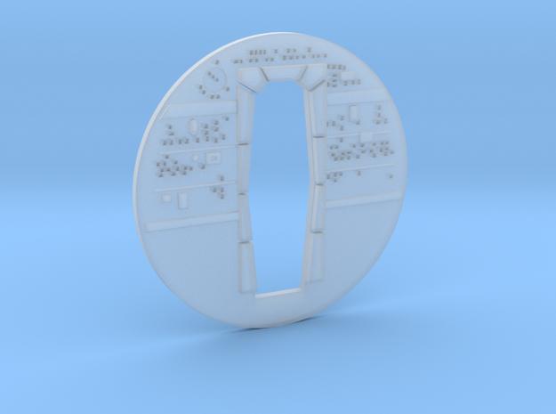 YT1300 FM 1/144 CABIN BACKWALL in Smoothest Fine Detail Plastic