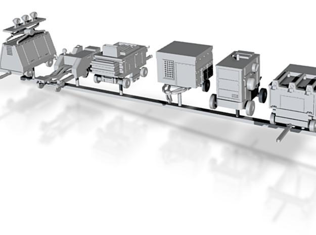 1/144 Ground Equipment Full Set 3d printed