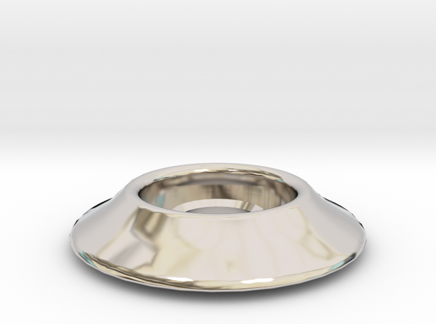 "1/4"" Riser Washer in Rhodium Plated"
