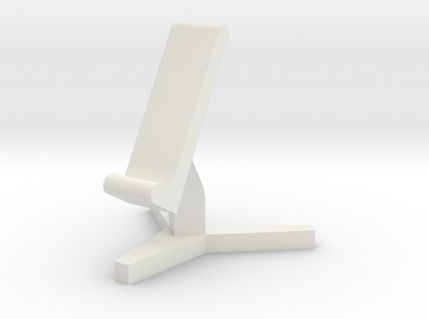 Phone Seat in White Strong & Flexible