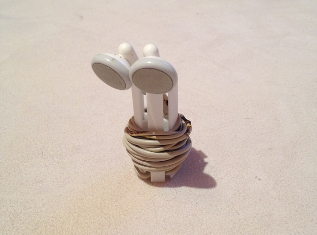 Hexphone - Headphone Tidy 3d printed
