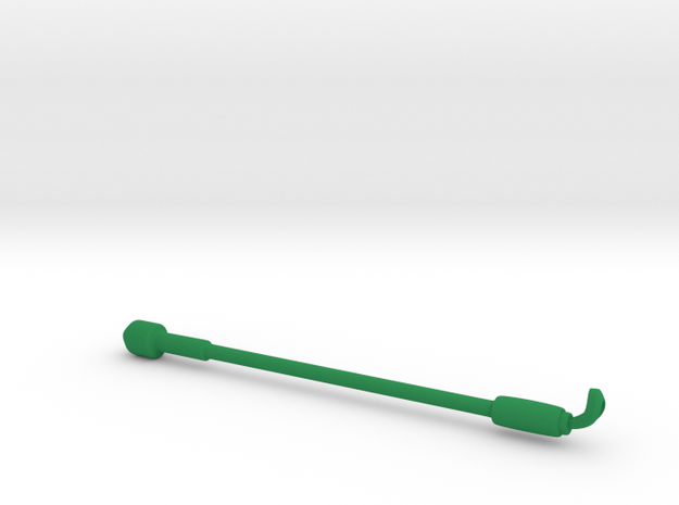Makies - Sight-Assistance Cane in Green Processed Versatile Plastic