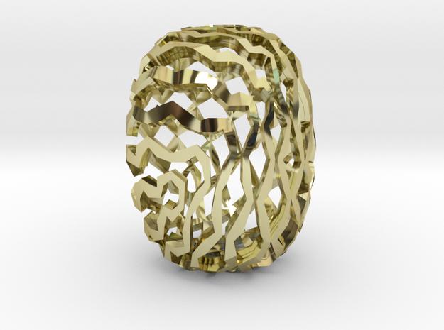 NanJing in 18k Gold Plated Brass