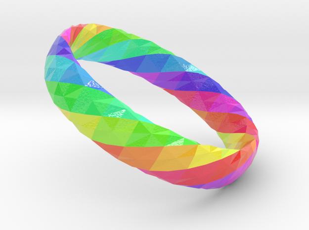 Twistium - Bracelet P=160mm h15 Color in Glossy Full Color Sandstone