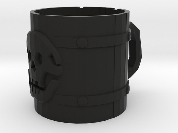 Liar's Dice skull mug