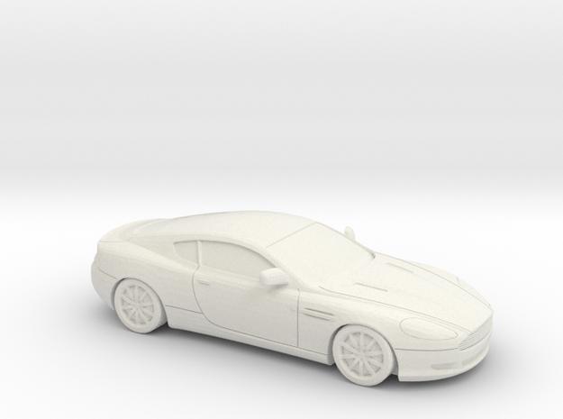 1/87 2004-08 Aston Martin DB9 in White Natural Versatile Plastic