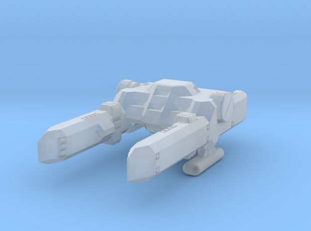 System Fleet Percy Class Mid-Bulk Freighter in Smooth Fine Detail Plastic