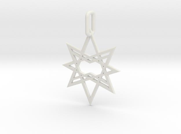 Double Octagon Star Pendant