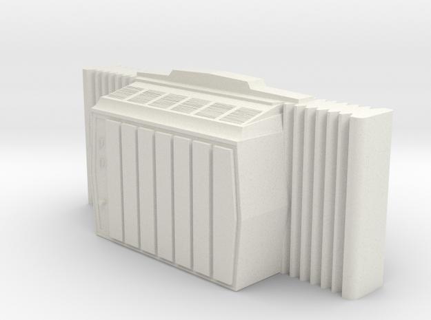 Window AC - 'O' 48:1 Scale in White Natural Versatile Plastic