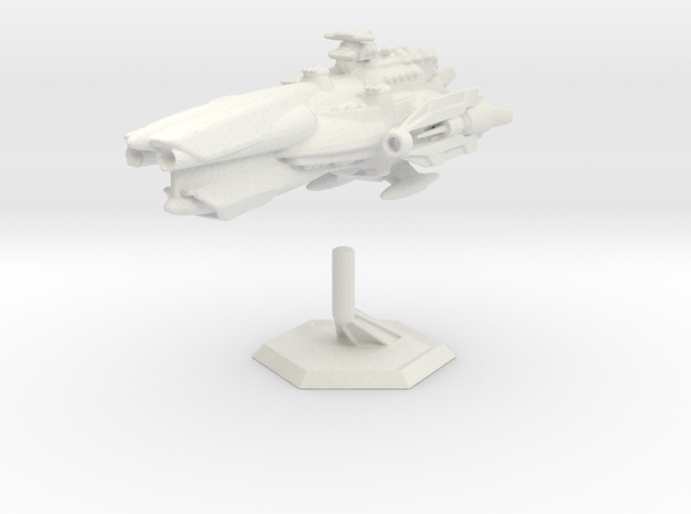 Star Sailers - Fallisorion - Heavy Cruiser  in White Natural Versatile Plastic