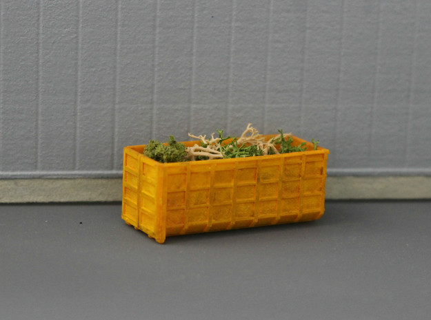 N Scale 3x ACTS Container #1 in Smooth Fine Detail Plastic