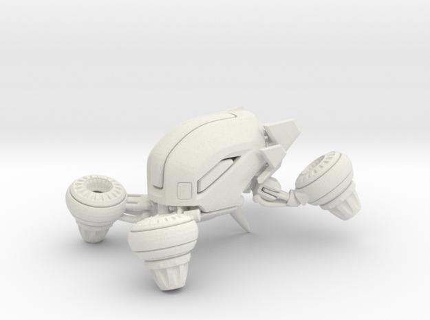 Bumble Drone  flying car  - Concept Design Quest in White Natural Versatile Plastic