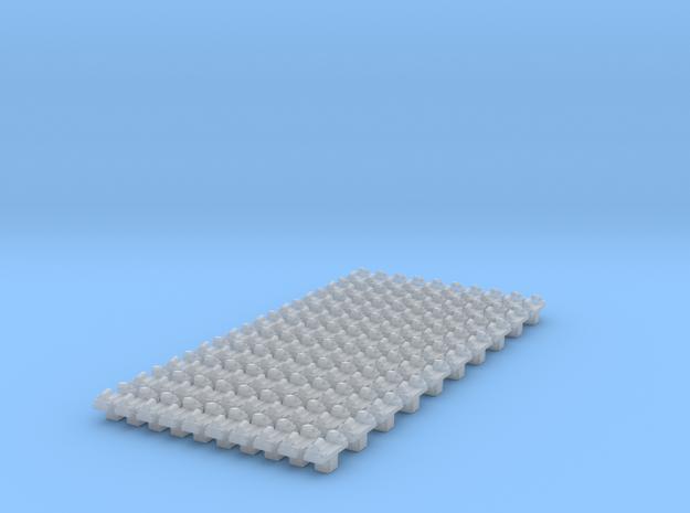 Befestigung Untersuchungsgrube 100 Stück in Smoothest Fine Detail Plastic