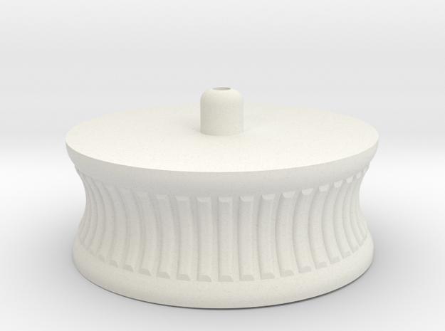 FlyWheelsV2.1 in White Natural Versatile Plastic