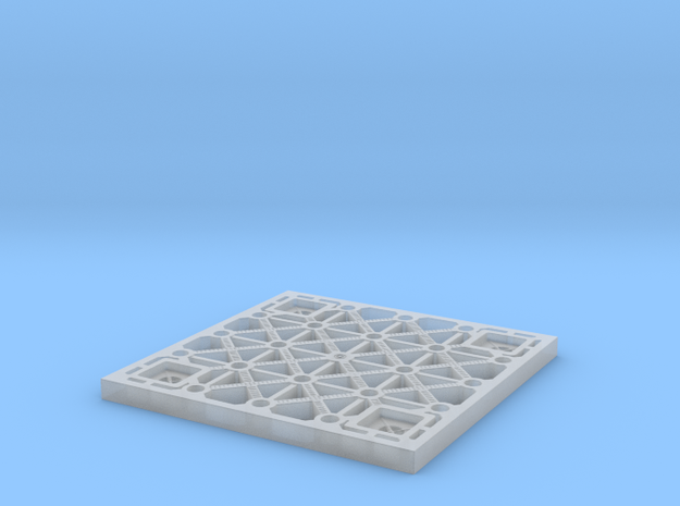 Sulaco floor tile 1/12 scale in Smoothest Fine Detail Plastic
