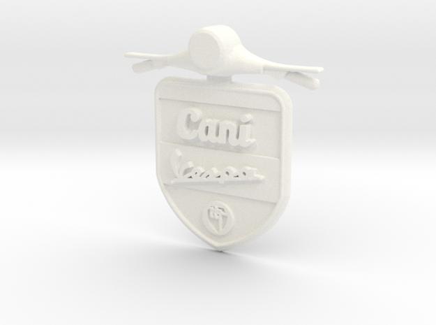 Emblem 3D Canivespa 5,5 cm