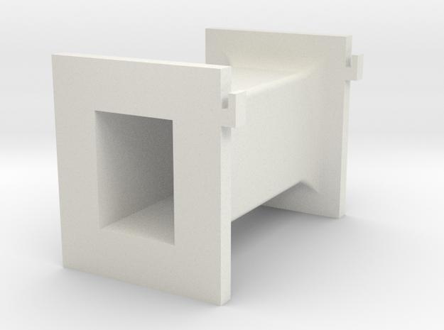 U80 65 32 Primary Bobbin in White Natural Versatile Plastic