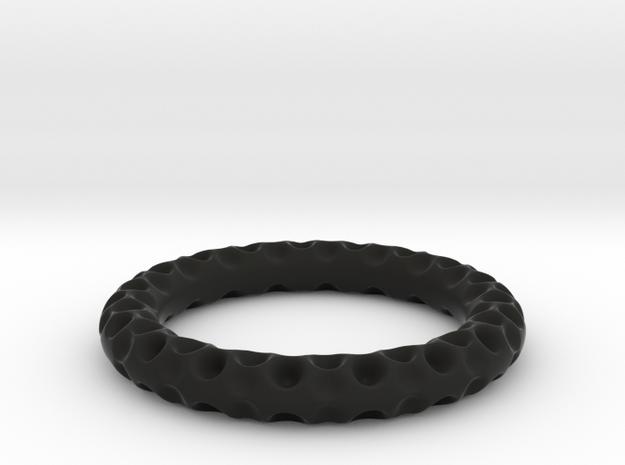 Craterium in Black Natural Versatile Plastic