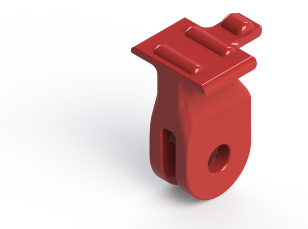 Blendr - GoPro adapter in Red Strong & Flexible Polished