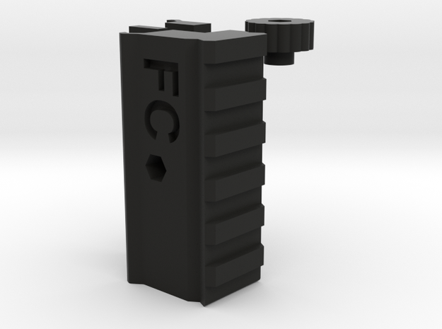 Airsoft Optic Riser (20mm Rail) in Black Strong & Flexible