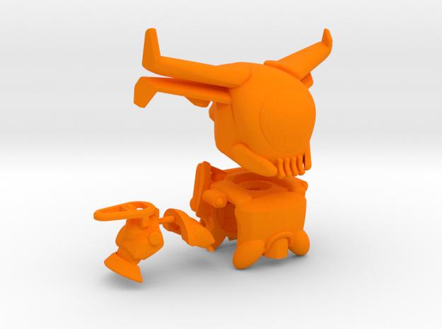 Kellslayer's Gear Set in Orange Processed Versatile Plastic