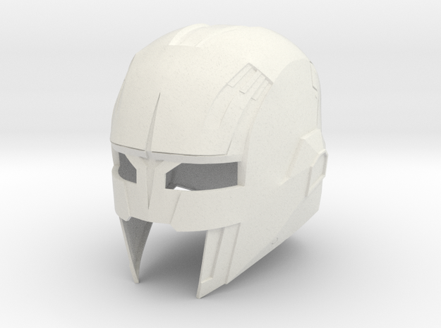 Nova Corp Helmet: Guardians of the Galaxy in White Natural Versatile Plastic